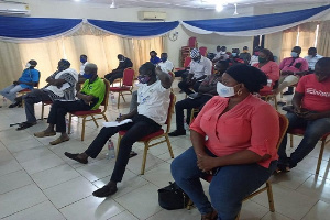 File photo: CDD-Ghana and stakeholders meeting