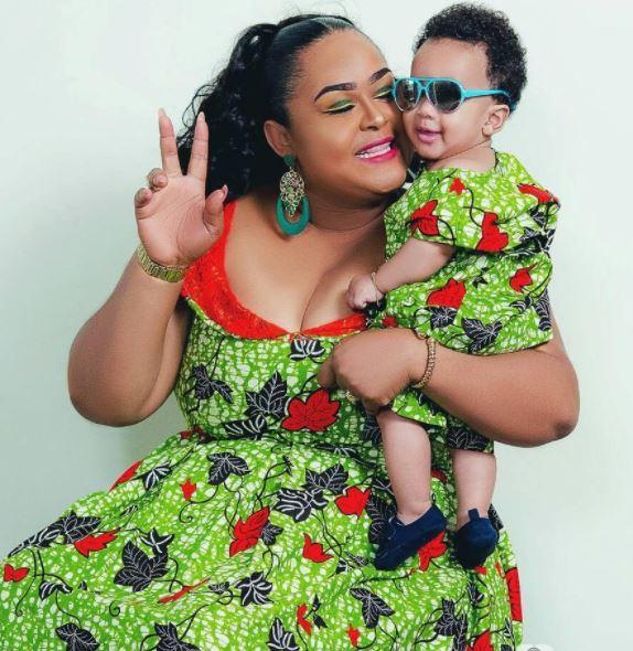 Actress Vivian Jill's son celebrates birthday; photos proves he's ...