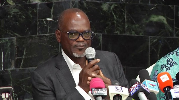 Businessman Dr. Kofi Amoah