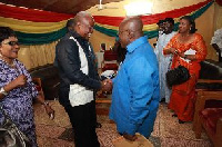 President John Mahama just called to congratulate Nana Akufo-Addo