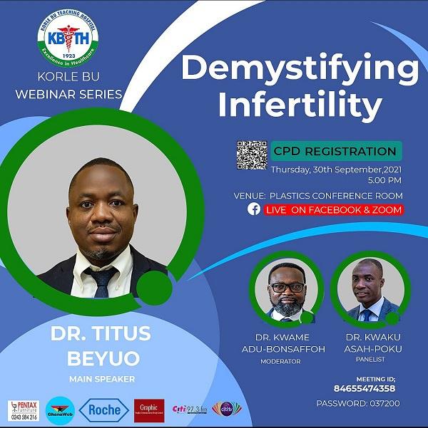 Korle Bu educates public on infertility in next webinar