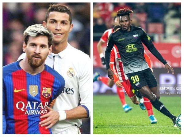 \'God of football\' Messi better than Ronaldo - Emmanuel Lomotey