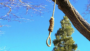 Suicide Hang By Robe