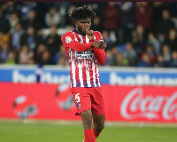 Ghana and Atletico Madrid midfielder, Thomas Partey