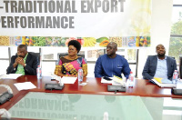 The Authority plans to engage the districts to identify exportable products for the initiative