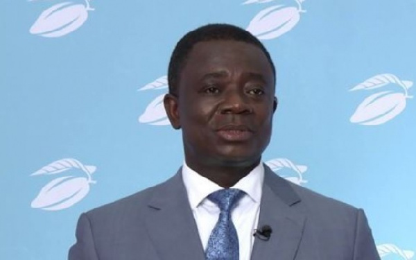 Dr Stephen Opuni, former Chief Executive Officer, COCOBOD