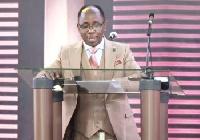 Reverend Dr Anthony Cudjoe,  Head Pastor of the Calvary Temple of the ICGC