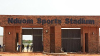 The Nduom stadium located in Cape Coast