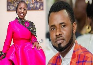 Gospel musicians Diana Hamilton and Ernest Opoku