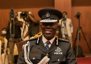 Inspector General of Police, Dr. George Akuffo Dampare