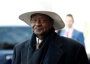 Yoweri Museveni London