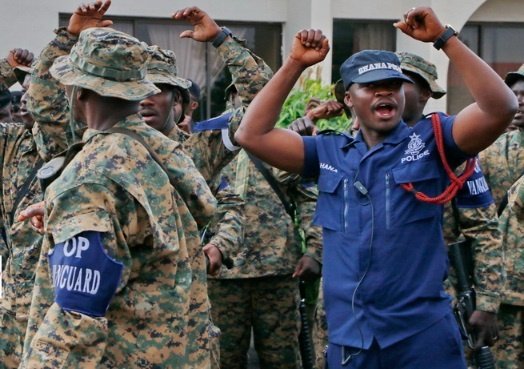 Operation Vanguard task force have arrested 311 illegal miners