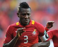 Black Stars skipper, Asamoah Gyan