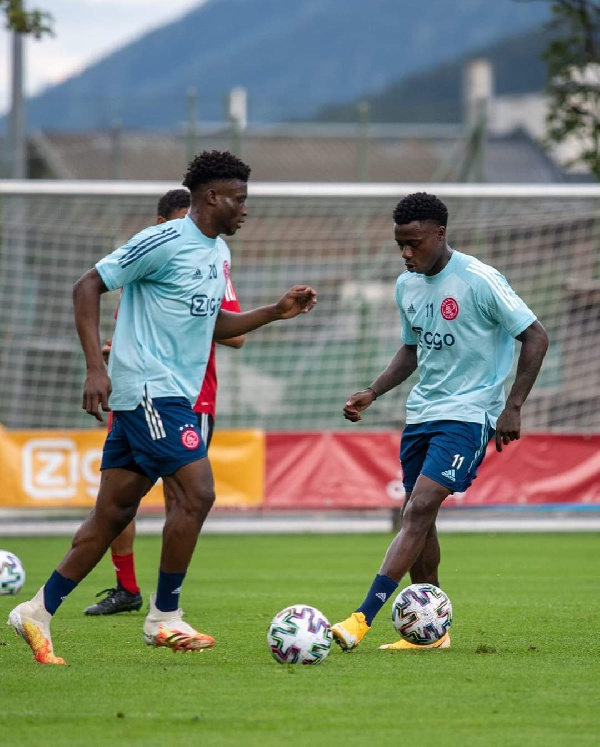 The Ghanaian duo are expected to feature agaisnt AS Roma tonight