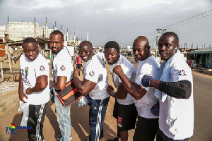 WABBA embarked on a float on Sunday