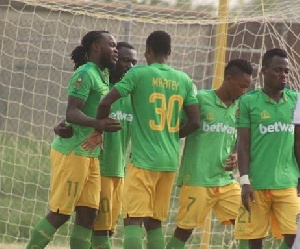 The defending league champions grabbed a 94th minute winner to beat Kotoko
