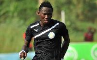 Sekondi Hasaacas striker Eric Bekoe