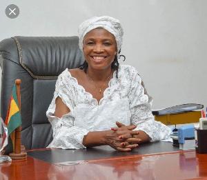 DCE of Bole district, Madam Veronica Alele Heming