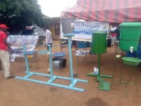 Some of the Sanitation facilities displayed at the Expo
