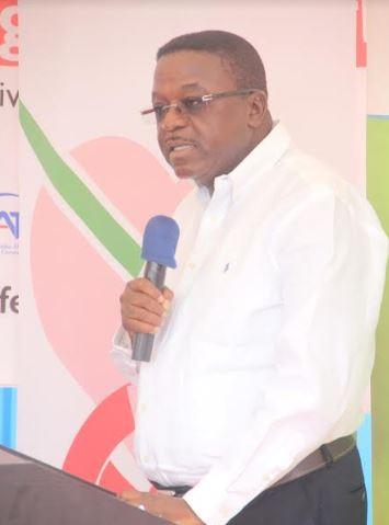 Managing Director for Vivo Energy Ghana, Ebenezer Faulkner