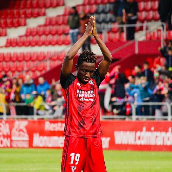 Ghanaian international Ernest Ohemeng