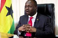 Former Communications Minister Dr. Edward Omane Boamah