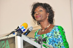 Former Minister of Fisheries and Aquaculture, Sherry Ayittey