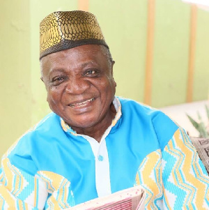 Highlife legend, Nana Ampadu
