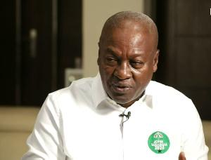 Former President, John Dramani Mahama