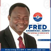 NPP National Chairman aspirant, Fred Amankwah-Sarfo