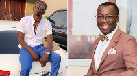 Media personality, Andy Dosty and Shatta Wale
