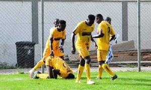 Medeama Players Celeb Goal GPL