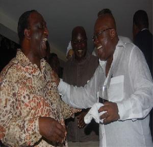 Nana Addo Dankwa Akufo-Addo and Alan Kyerematen