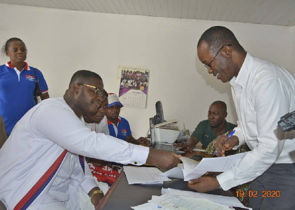 Alfred Kumi files to contest Adentan NPP primary