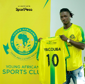 Former Asante Kotoko striker, Songne Yacouba