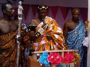 Nene Olepeme Sackinor Nanor I, Chief of Suisi Okuenya and Adaduili Kworsi
