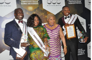 Dr Bortey took home Promising CEO of the year award
