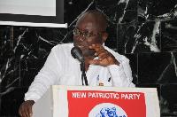 Nana Addo Dankwa Akufo-Addo, NPP flagbrearer