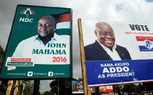 NDC, NPP 2016 presidential campaign billboards