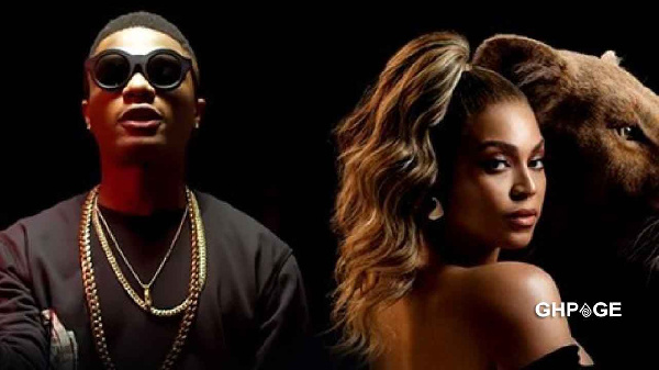 Wizkid(left) & Beyonce(Right)