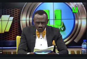Kwasi Boadi Akrobeto is a comedy show host on UTV
