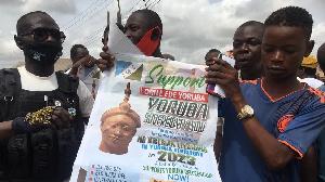 Yoruba self-determination group dey do rally for Ibadan amidst heavy security