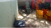 Residents say the sewage system at the directorate was not properly laid