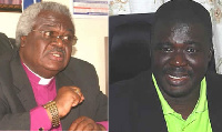 L-R] Rev. Prof Martey and Dr Akyeampong