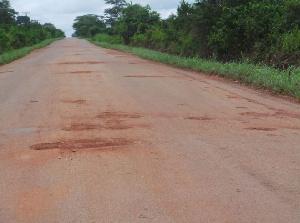 Berekum Sampa Road
