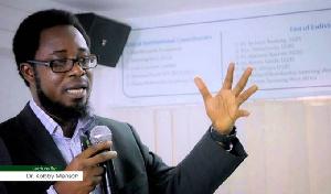 Senior Lecturer at the University of Ghana Business School, Dr. Kobby Mensah