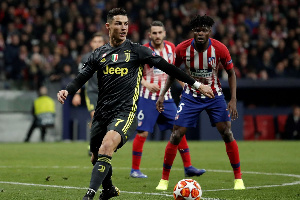Juventus knocked Atletico out of the 2018-19 Champions League in the last-16