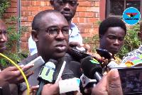 Mr Kofi Bentil, the Vice President of IMANI Ghana