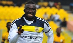 AshantiGold SC striker, Nana Poku