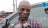 George Owusu, owner of Mansco LPG filling station